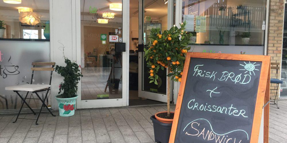 Gode stunder i Café Sweet Moments i Egedal Centret.