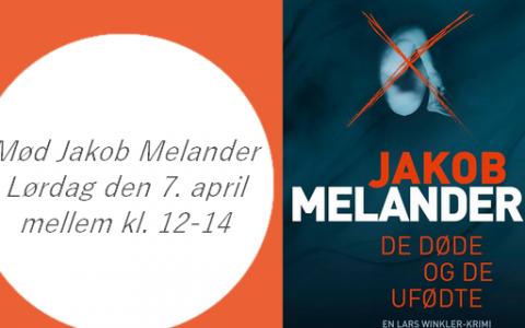 Forfatterbesøg af Jakob Melander i Stenløse Boghandel den 7. april