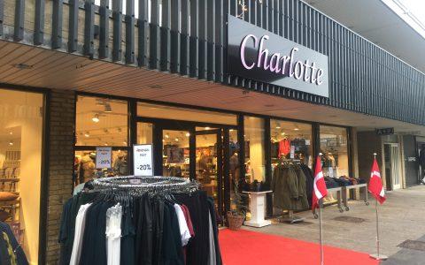 Butik Charlotte åbnede i nye flotte lokaler